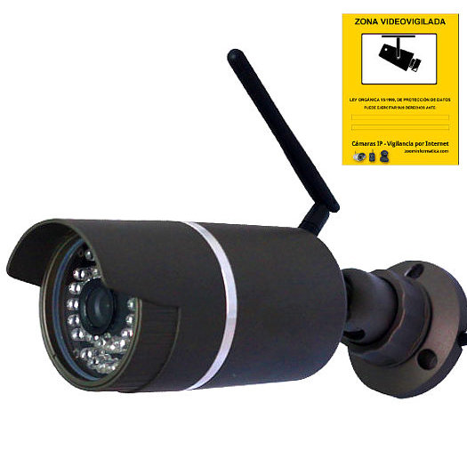 Wanscam JW0006 Camara de seguridad IP mini exterior Reacondicionada