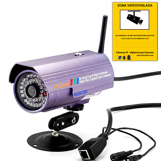 Wanscam JW0006 JW0006 WANSCAM IP CAMARA WIFI VIDEO VIGILANCIA WANSCAM EXTERIOR JW0006  6MM CAMERA