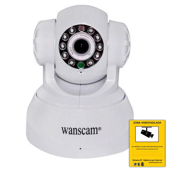 Camaras IP Interior Wanscam JW0008 W