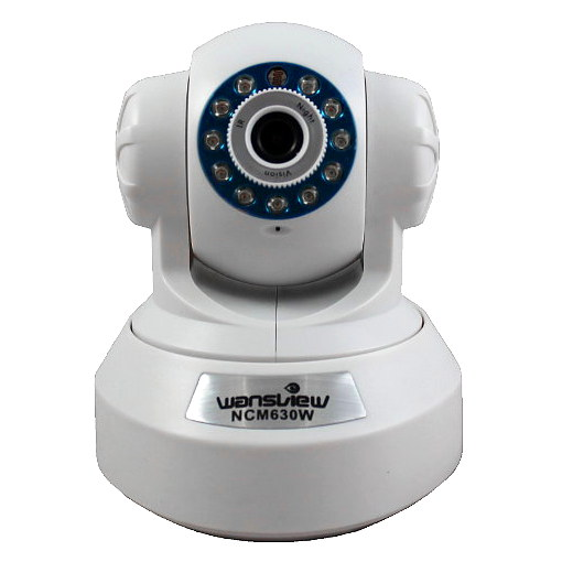 WANSVIEW NCM630GB W WANSVIEW IP CAMARA BLANCO WIFI NCM-630GB NCM630GB HD H264 GRABA EN SLOT MEMORIA HD