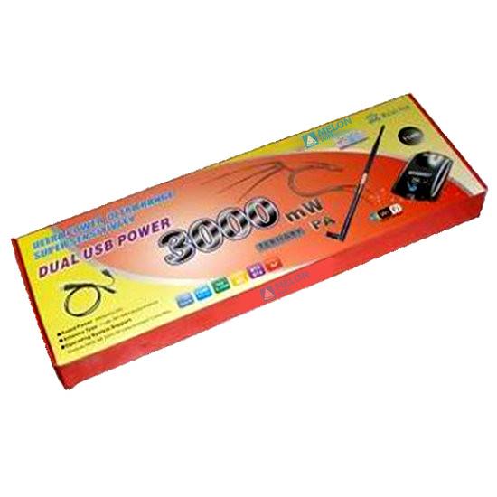 Comprar online Adaptadores WIFI USB MELON MELON 3000MW 3W REALTEK al mejor precio