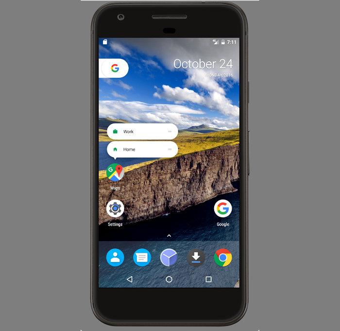 Google presenta su nuevo Android 7.1 Nougat. Estas son sus principales novedades.