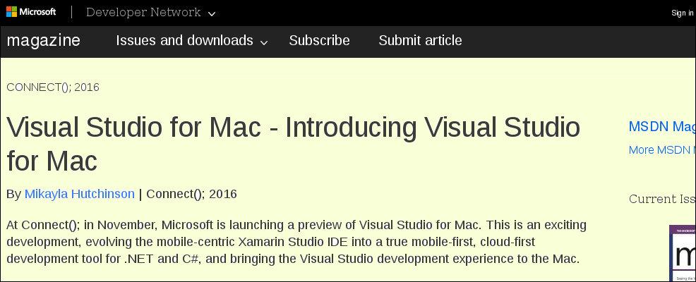 Microsoft revela sin querer que su aplicación para desarrolladores Visual Studio, llegará a Mac